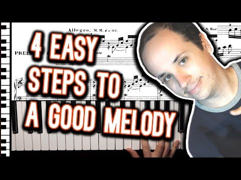 The 4 Essential Elements to Writing a Melody Using the Piano