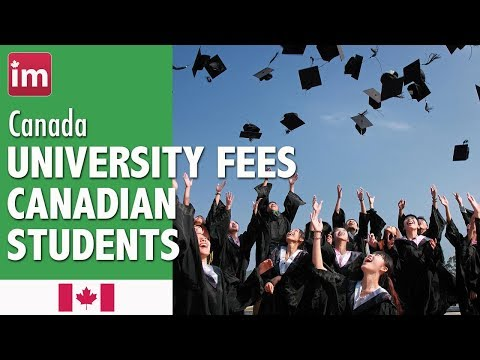 University Tuition Fees in Canada (2017-2018) | Cost of Living in Canada