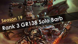 Diablo 3 Rank 3 GR138 Solo Barb