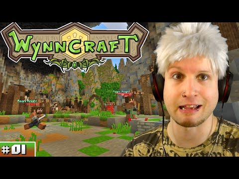 Scythe Plays Minecraft [Wynncraft Server] ✪ MMORPG!! ● #01