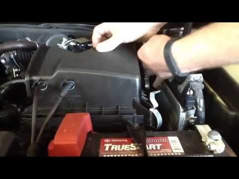 How to Replace the Air Filter on a 2014 Toyota Avalon ...