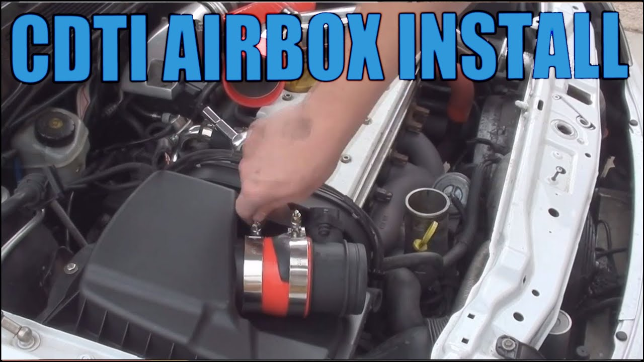& How to install the CDTI Airbox Conversion - YouTube Aboutintivar.Com