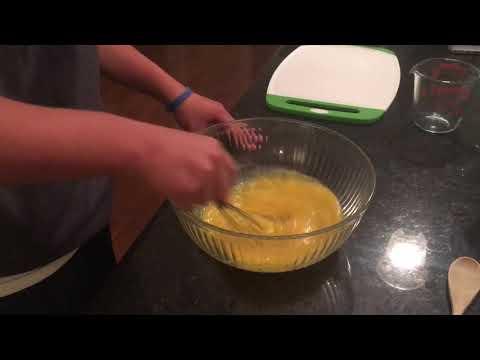 Whisk the eggs