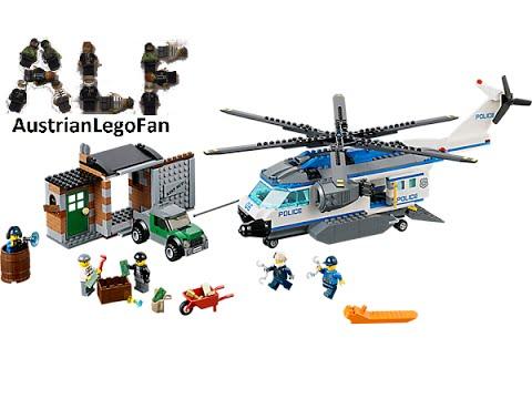 Lego City 60046 Helicopter Surveillance / Verfolgung Polizei Hubschrauber - Lego Speed Build Review