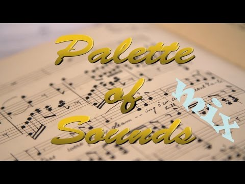 Palette of Sounds piano & violin duo promo video Jazz Pop Classic mix version