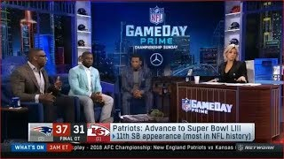 Patriots defeat Chiefs & Advance to Super Bowl LIII   NFL GameDay Prime