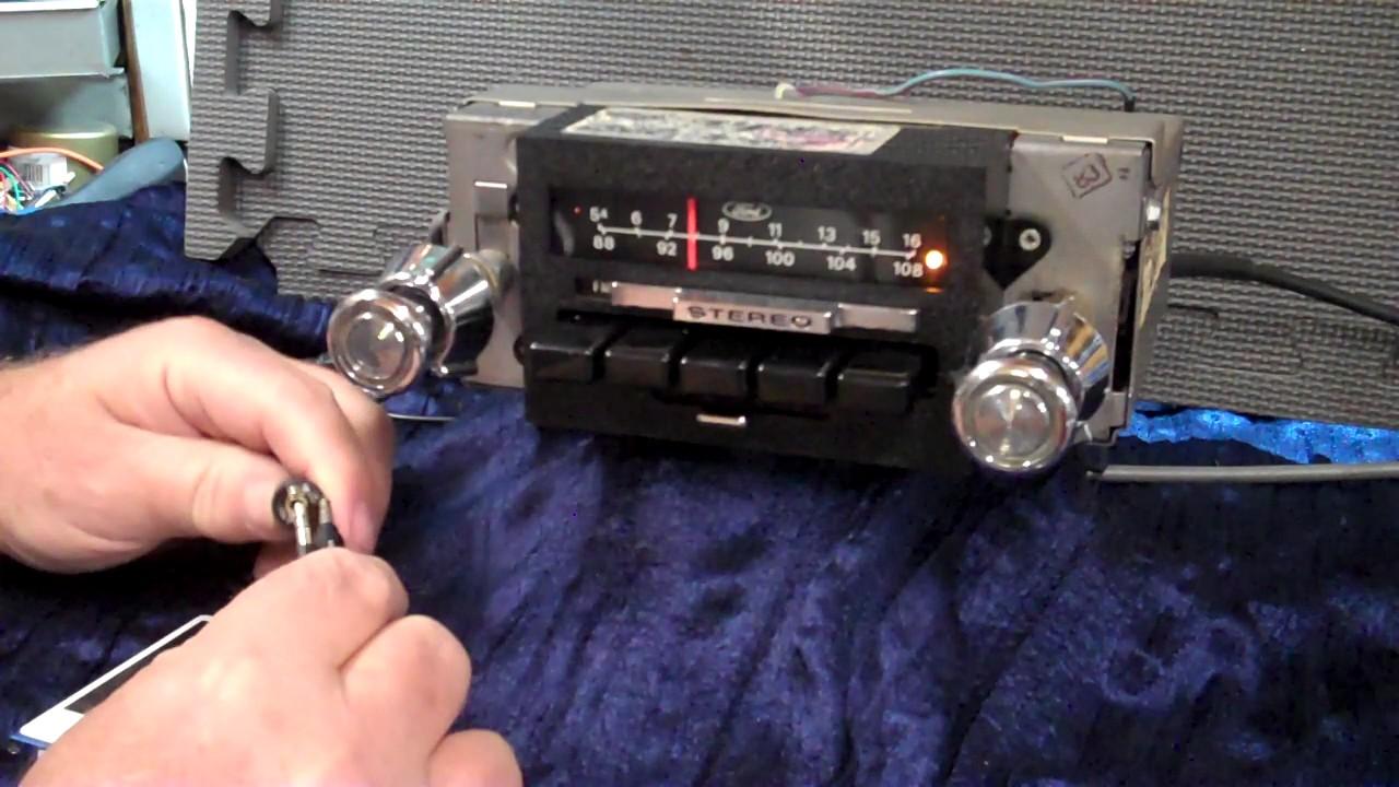 1979 Ford F150 Original Am  Fm Radio