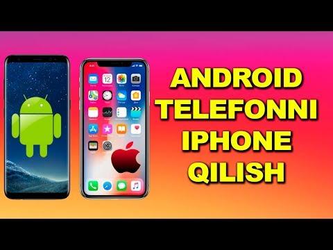 Android Telefonni Iphone Qilish / Андроид телефонларни Iphone қилиш