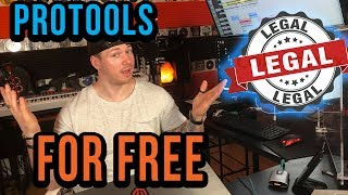 Pro Tools Is FREE Now?! WTF!?!?! (LINK INSIDE)