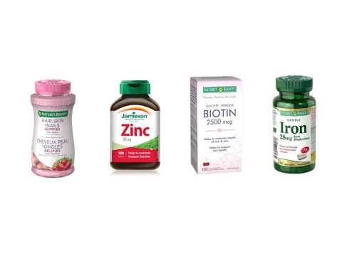 GROW YOUR HAIR WITH SUPPLEMENTS / BIOTIN / ZINC | Lina Waled