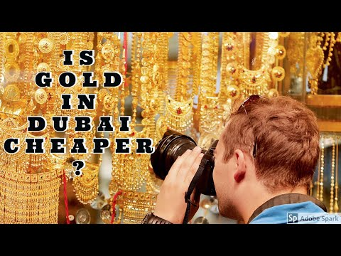 DEIRA GOLD SOUQ 2019 | WHY BUY FROM DUBAI | CHEAPEST GOLD EVER