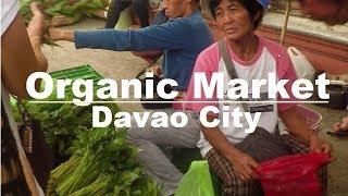Organic Market at Rizal Park, Davao City, Philippines