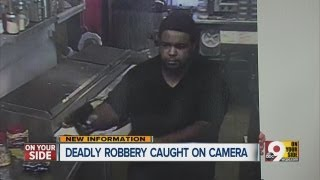 Deadly robbery caught on camera