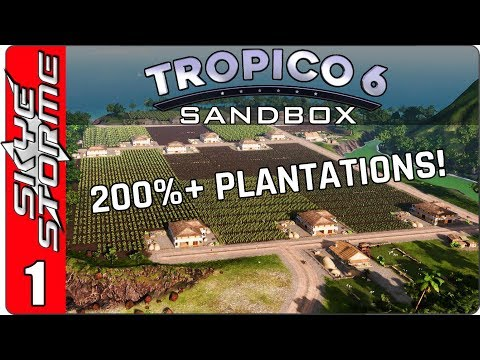 Tropico 6 - Unlocking the Secrets ◀ BEAUTY AND EFFICIENCY! ▶ Part 1 (New Strategy Game 2018)