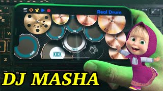 Download Mp3 Dj Masha And The Bear - Tik Tok Viral | Real Drum Cover