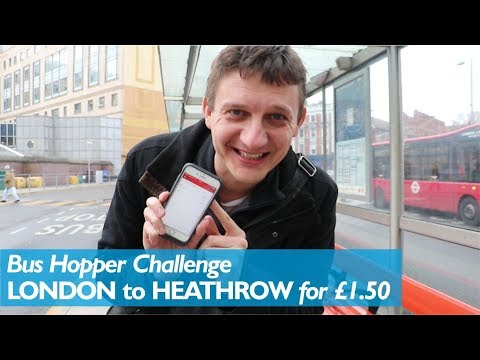 London to Heathrow for £1.50 (Bus Hopper Challenge)