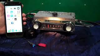 1964 Ford F100 original AM radio