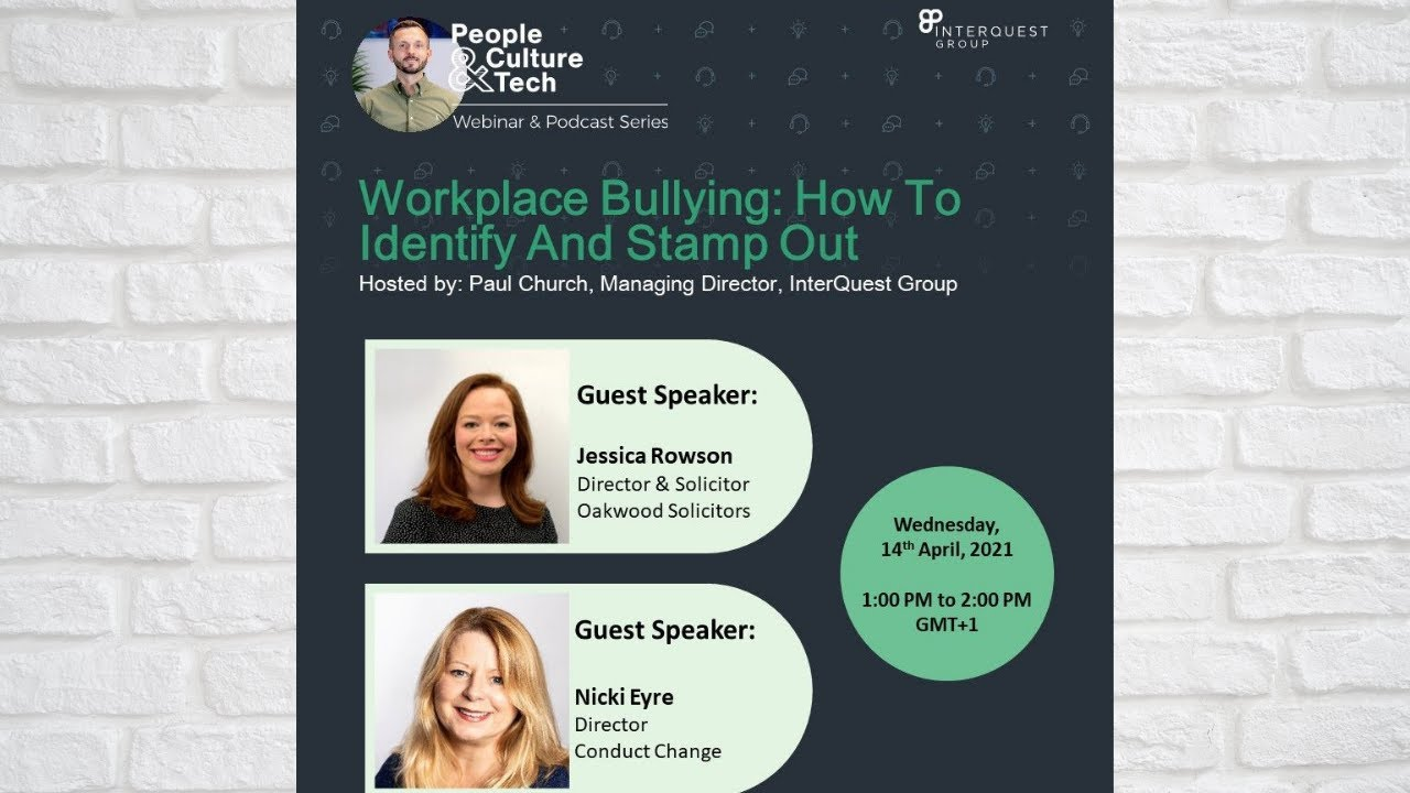 Workplace Bullying: How to Identify and Stamp out