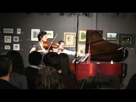 Michelle Ross and Adam Golka - Clara Schumann Romance No. 3 for violin and piano