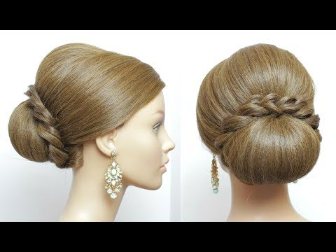Bridal French Braids Hairstyle For Long Hair
