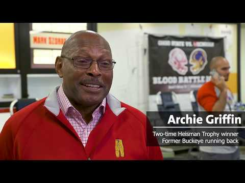 Archie Griffin | Blood Battle | Versiti Blood Center of Ohio
