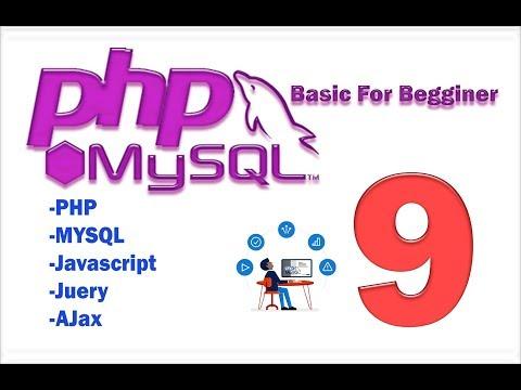 PHP MySQL HTML part 9 (basic) update recored from database
