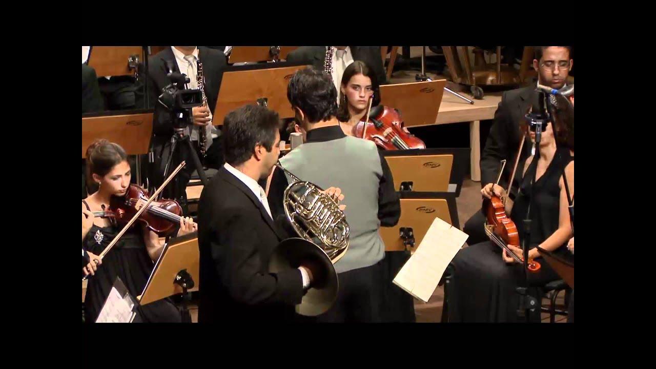 Saint-Saëns: Morceau de Concert para Trompa e orquestra, op. 94