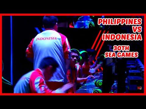 Grand Finals SEA Games 2019 | PH Vs INDO Game 2 - Mobile Legends