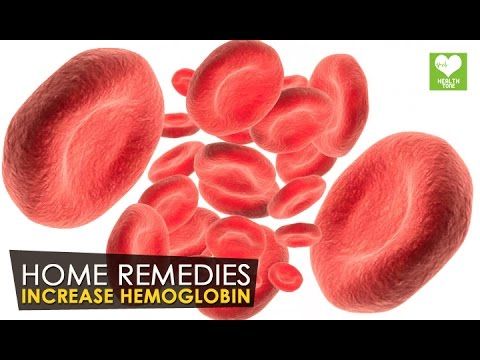Hemoglobin - How To Increase Naturally | Health Tone Tips