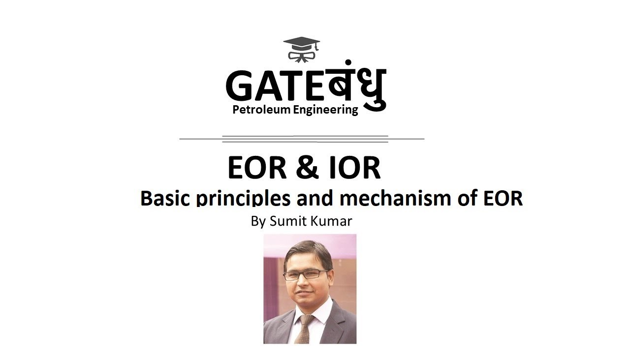 Download EOR | Course | Basic principles and mechanism of EOR