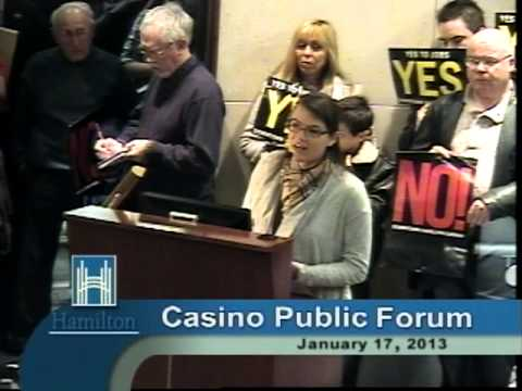 Casino Information Forum EXCERPT (January 17, 2013)