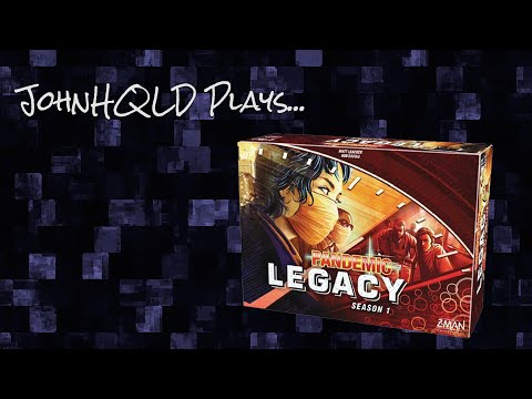 JohnHQLD Plays... Pandemic Legacy - Game 01 - Early January