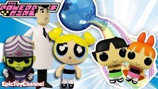 Powerpuff Girls Reboot Toy Video Mojo JoJo Turns Powerpuff Girls Into Surprise POP Character Toys