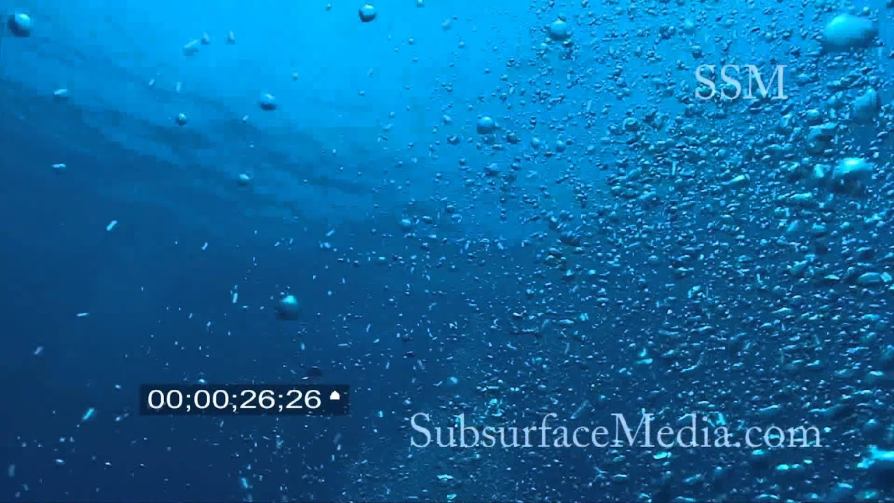 how to draw bubbles underwater