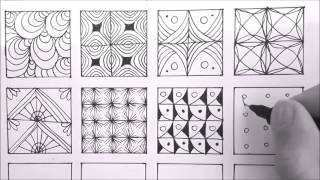 Patterns For Doodling | 24 Doodle Patterns, Zentangle Patterns, Mandala Patterns