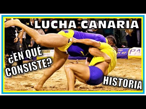 La LUCHA CANARIA: