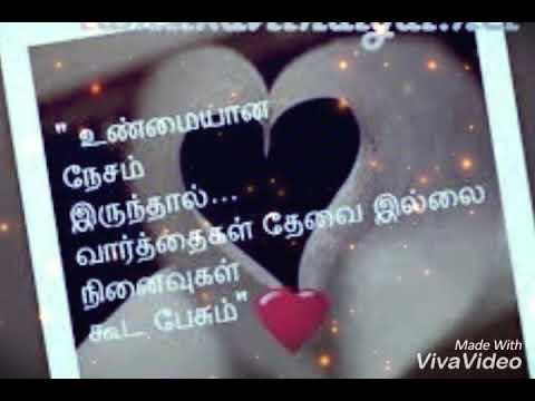 Feel My Love Tamil Whatsapp Status Youtube
