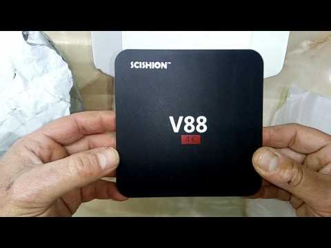 SCISHION V88 TV Box Rockchip 3229 Quad Core 4K H.265 1GB DDR3 RAM 8GB eMMC ROM Mini PC-EU PLUG