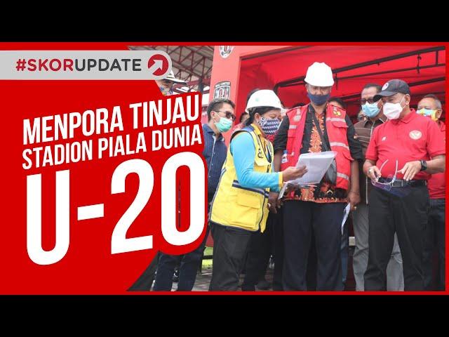 PRA PIALA DUNIA U-20, MENPORA TINJAU RENOVASI STADION DI BALI
