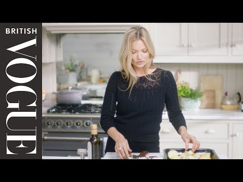 Cooking With Kate Moss | British Vogue