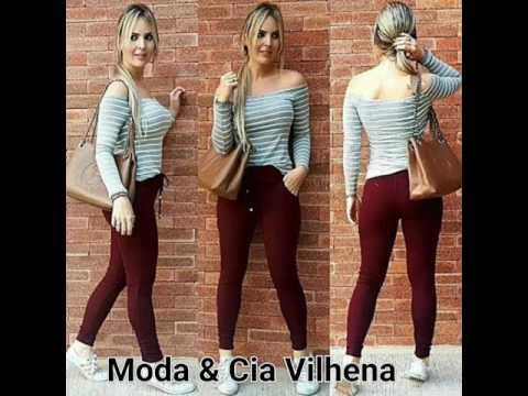25a1b22e5 Calça Feminina Moletom Dress Code Vinho