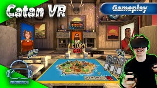Catan VR - Das virtuelle Brettspiel [Let's Play][Gameplay][German][Oculus Rift][Virtual Reality]