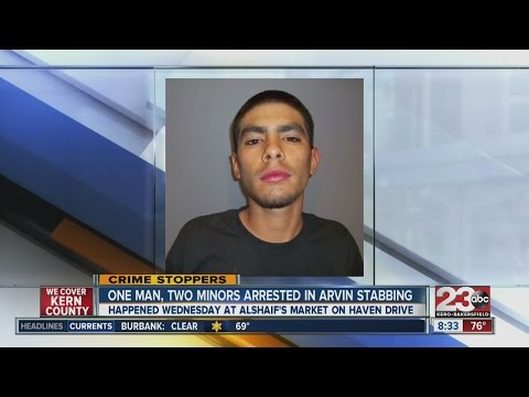 Man, two teenagers arrested in Arvin gas station stabbing