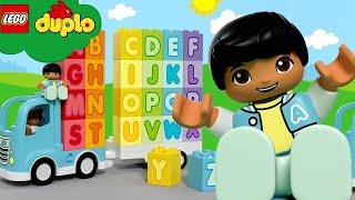 LEGO | Alphabet Song | ABC 123 | LEGO DUPLO | Kids Songs | Sleep Baby Songs