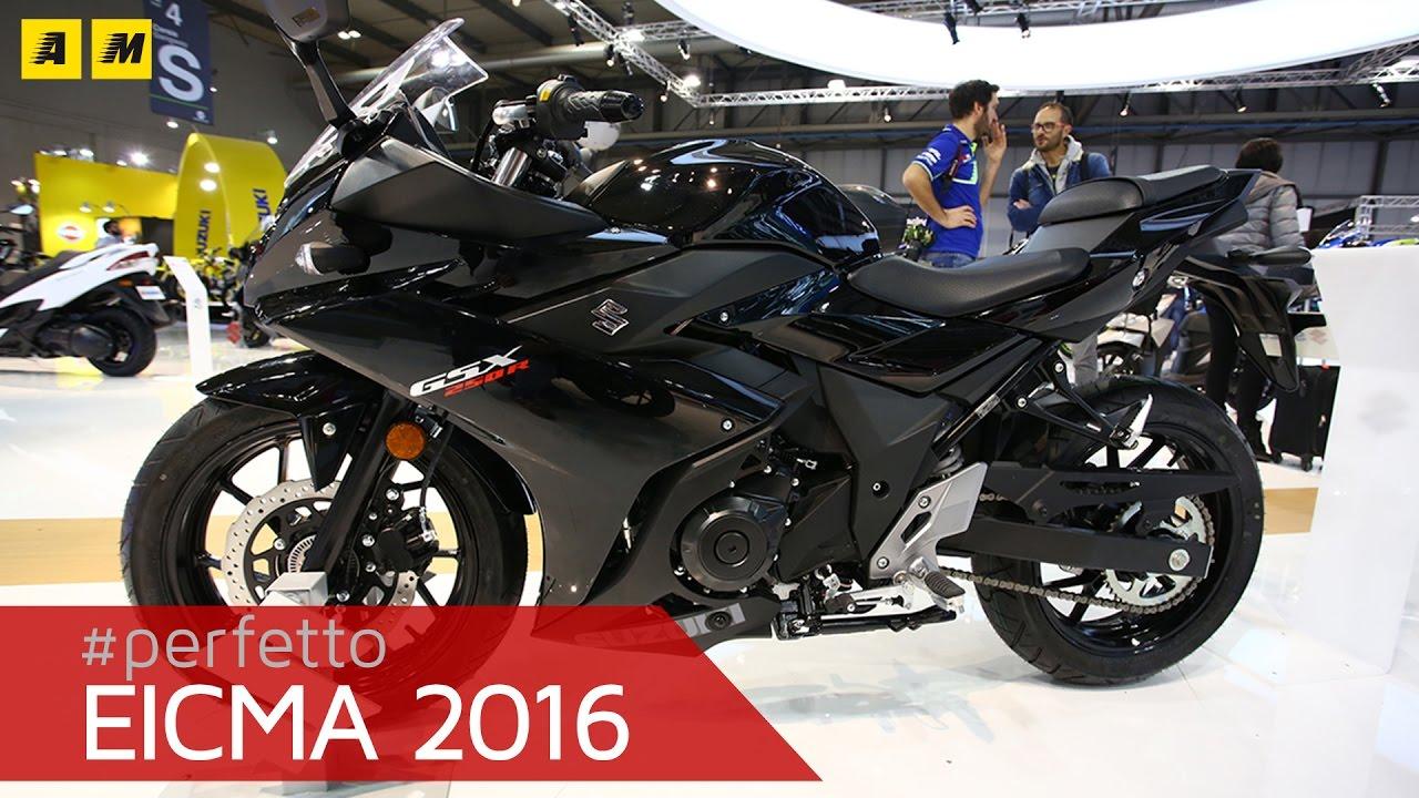 Suzuki Gsx R 250 Eicma 2016 English Sub Youtube