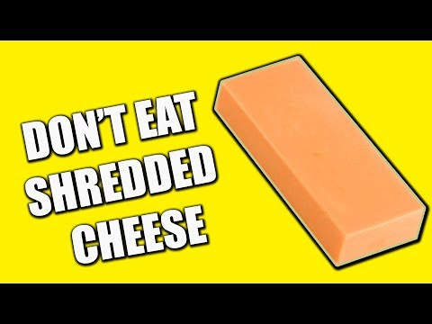 DON'T EAT SHREDDED CHEESE - What's Really in Shredded Cheese