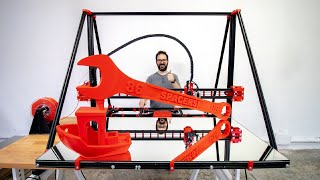 GIANT 3D PRINTER FROM SCRATCH MkIV - BIGGER!