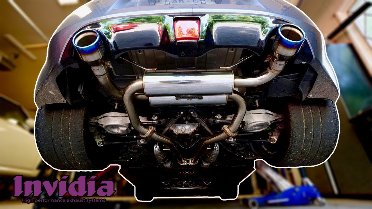 best sounding 370z with invidia exhaust install revs accelerations