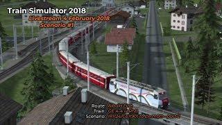 IR1124/GEX901 to Zermatt - Part 2 (Livestream 04/02/2018)