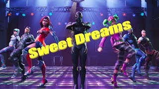the most beautiful dance of fortnite (Sweet Dreams)